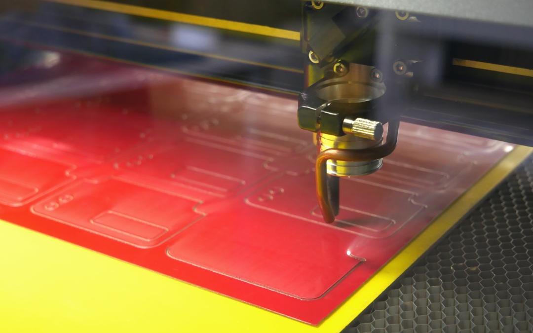 Teippien laserleikkaus toimii tuotekehityksen tukena